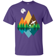 T-Shirts Purple / Small Forest View T-Shirt