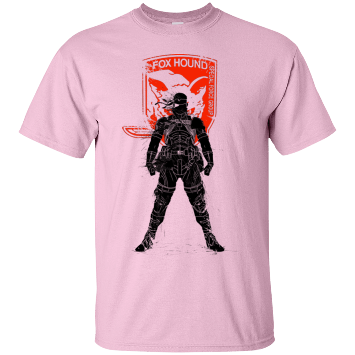 T-Shirts Light Pink / Small Fox Hound (1) T-Shirt