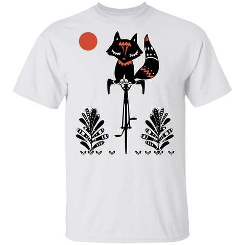 Fox On A Bike T-Shirt