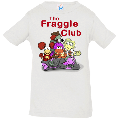 T-Shirts White / 6 Months Fraggle Club Infant Premium T-Shirt