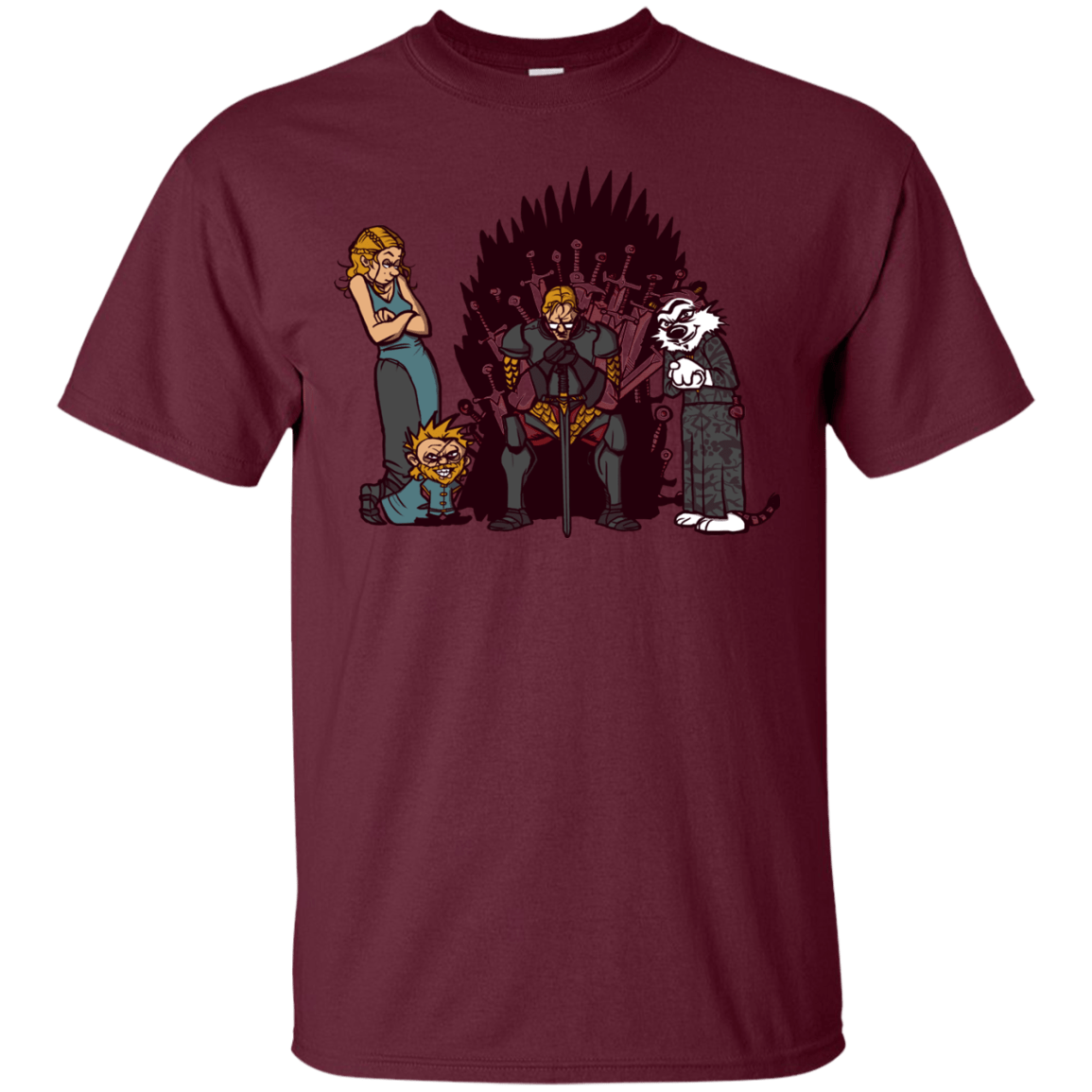 T-Shirts Maroon / S Game Of Conspiracy T-Shirt