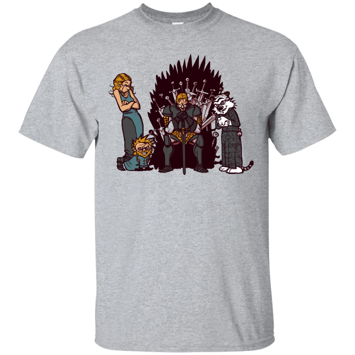 T-Shirts Sport Grey / S Game Of Conspiracy T-Shirt