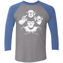 Gargoyle Rhapsody Men's Triblend 3/4 Sleeve