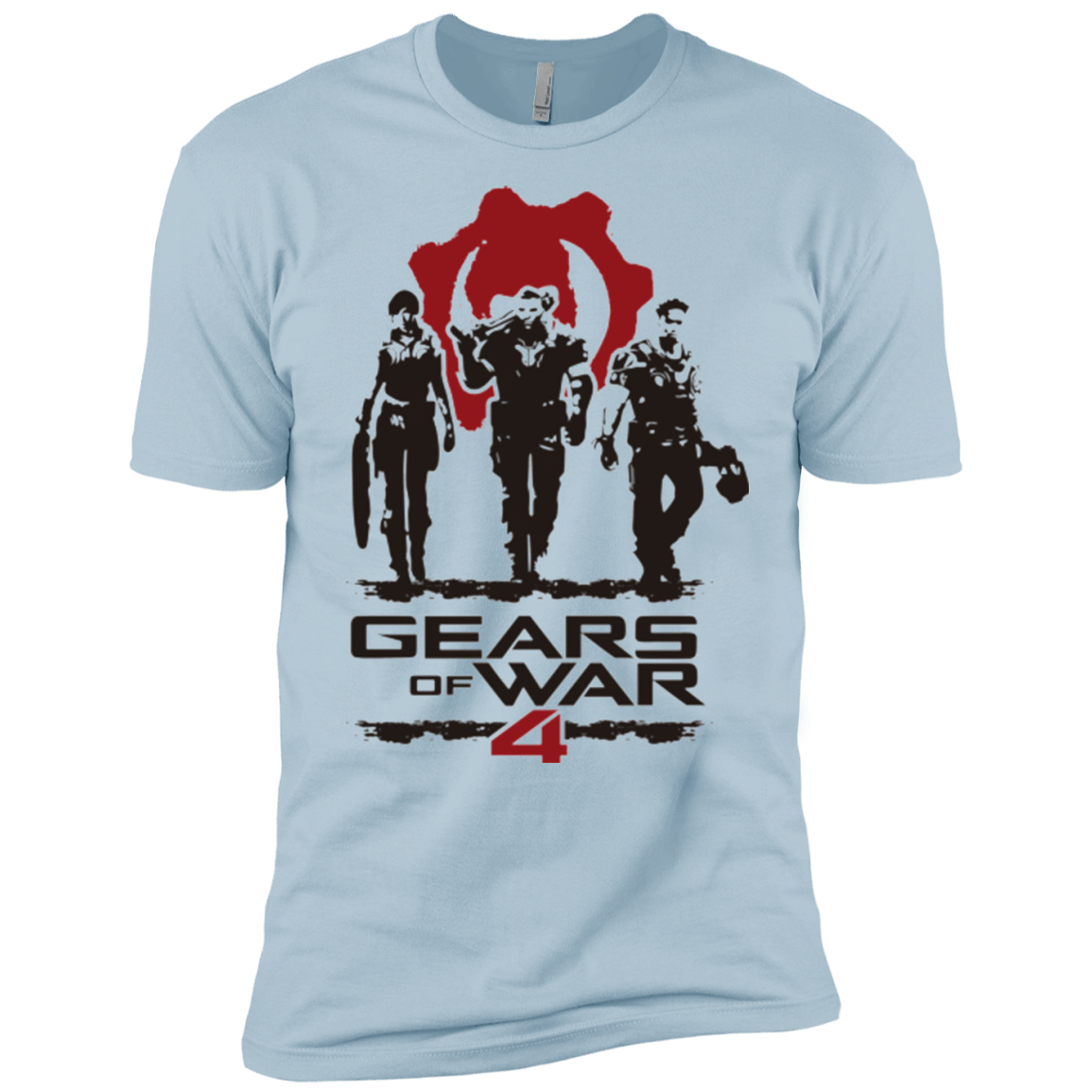 Gears Of War 4 White Men's Premium T-Shirt