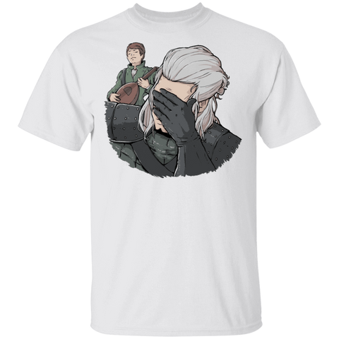 Geralt Face Palm T-Shirt