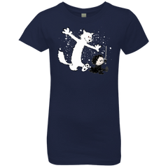 Ghost And Snow Girls Premium T-Shirt