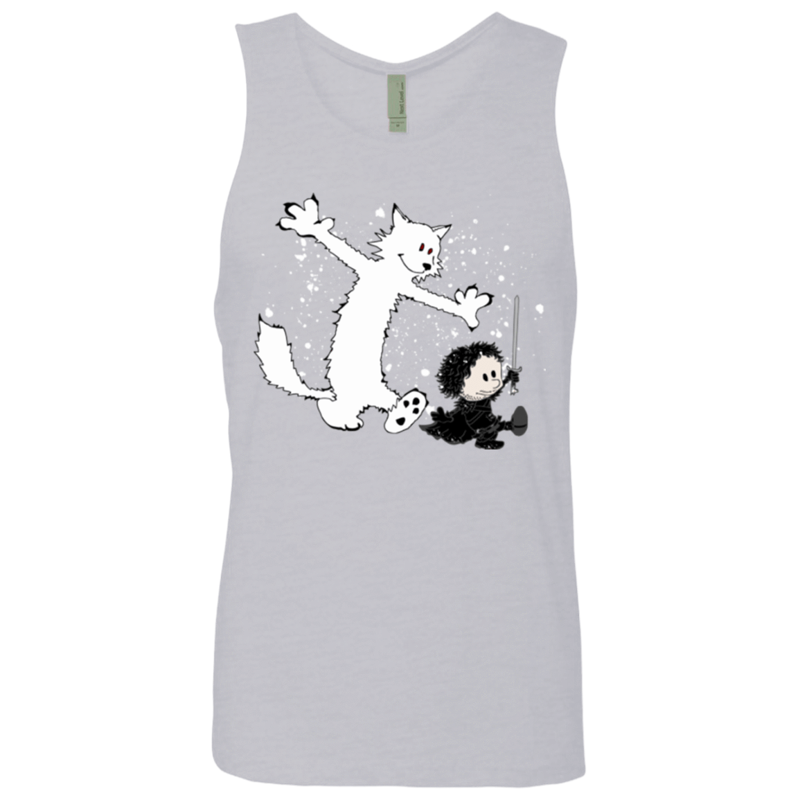 Ghost And Snow Men's Premium Tank Top