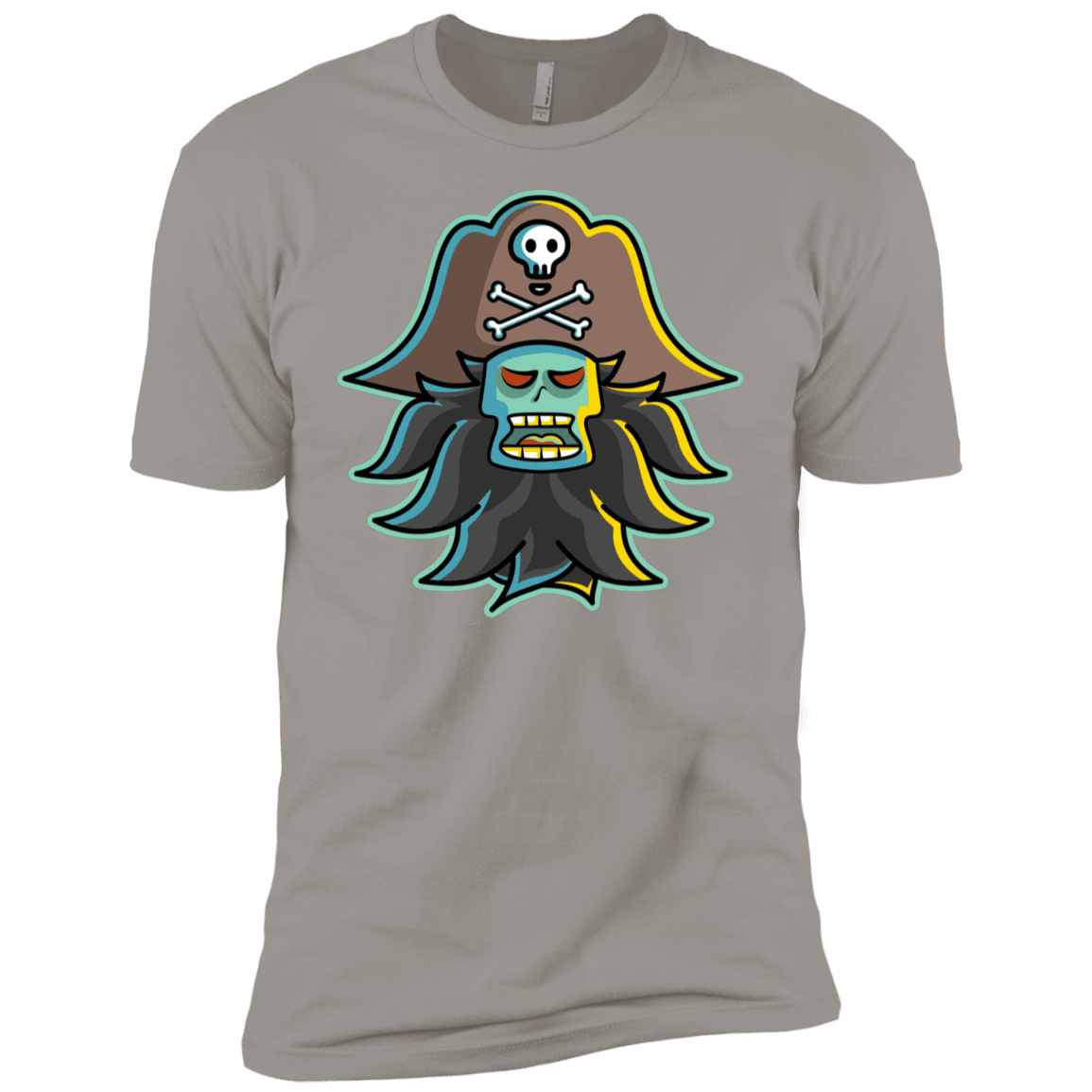 T-Shirts Light Grey / YXS Ghost Pirate LeChuck Boys Premium T-Shirt