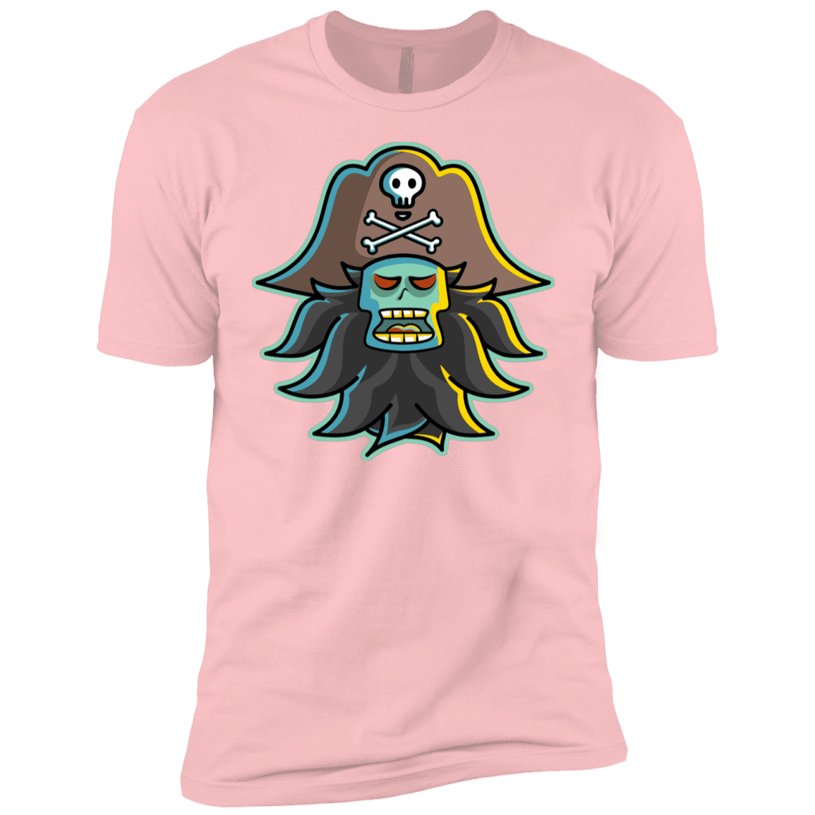 T-Shirts Light Pink / YXS Ghost Pirate LeChuck Boys Premium T-Shirt