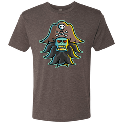 T-Shirts Macchiato / S Ghost Pirate LeChuck Men's Triblend T-Shirt