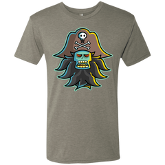 T-Shirts Venetian Grey / S Ghost Pirate LeChuck Men's Triblend T-Shirt