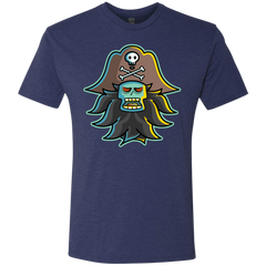 T-Shirts Vintage Navy / S Ghost Pirate LeChuck Men's Triblend T-Shirt