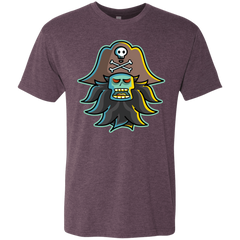 T-Shirts Vintage Purple / S Ghost Pirate LeChuck Men's Triblend T-Shirt