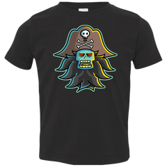 T-Shirts Black / 2T Ghost Pirate LeChuck Toddler Premium T-Shirt