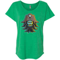 T-Shirts Envy / X-Small Ghost Pirate LeChuck Triblend Dolman Sleeve