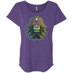 T-Shirts Purple Rush / X-Small Ghost Pirate LeChuck Triblend Dolman Sleeve