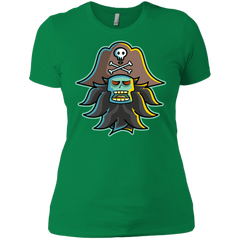 T-Shirts Kelly Green / X-Small Ghost Pirate LeChuck Women's Premium T-Shirt