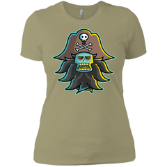 T-Shirts Light Olive / X-Small Ghost Pirate LeChuck Women's Premium T-Shirt