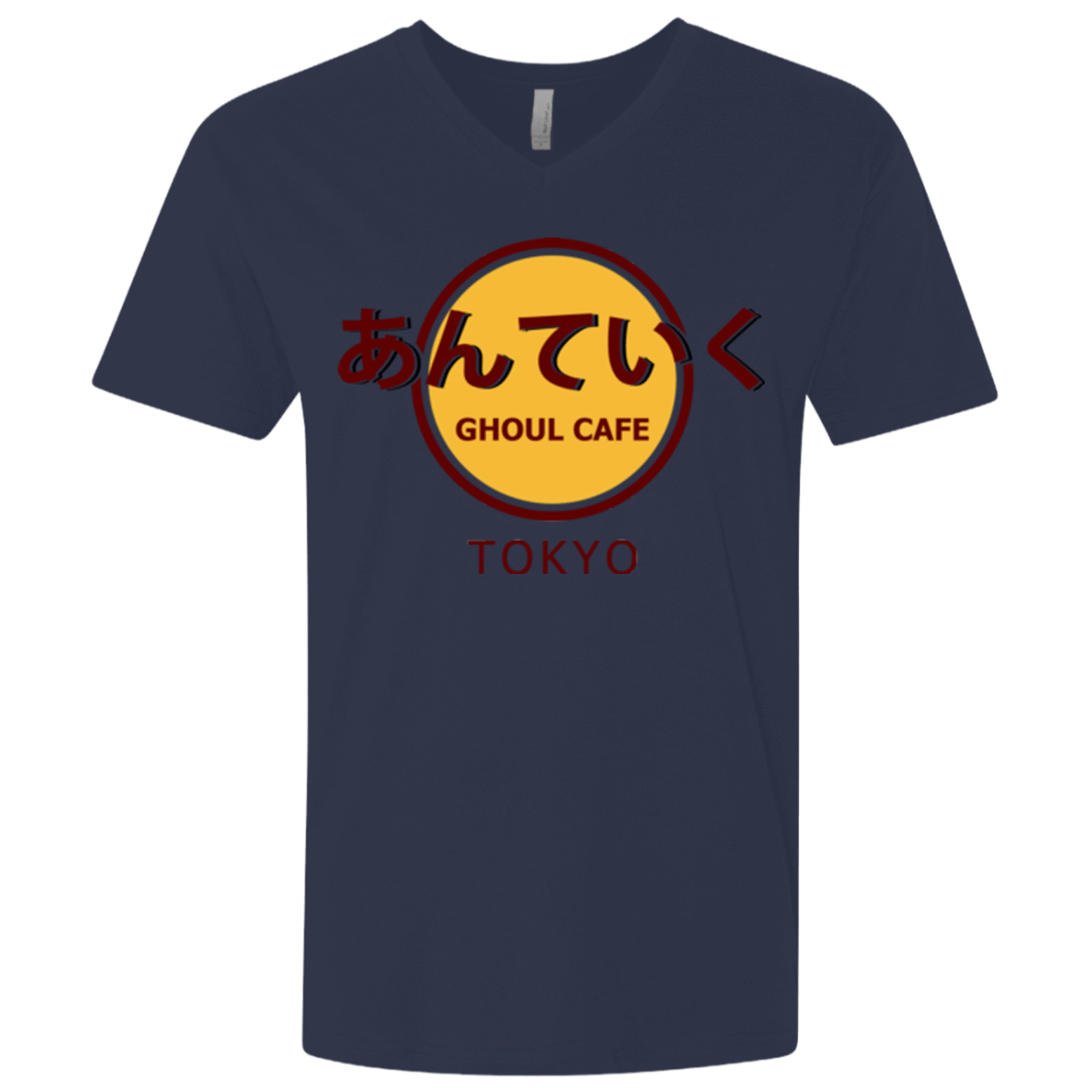 Ghoul cafe Men's Premium V-Neck
