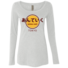 Ghoul cafe Women's Triblend Long Sleeve Shirt