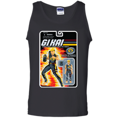 T-Shirts Black / S GI KAI Men's Tank Top