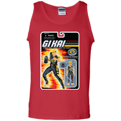 T-Shirts Red / S GI KAI Men's Tank Top