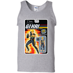 T-Shirts Sport Grey / S GI KAI Men's Tank Top