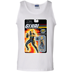 T-Shirts White / S GI KAI Men's Tank Top
