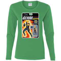 T-Shirts Irish Green / S GI KAI Women's Long Sleeve T-Shirt