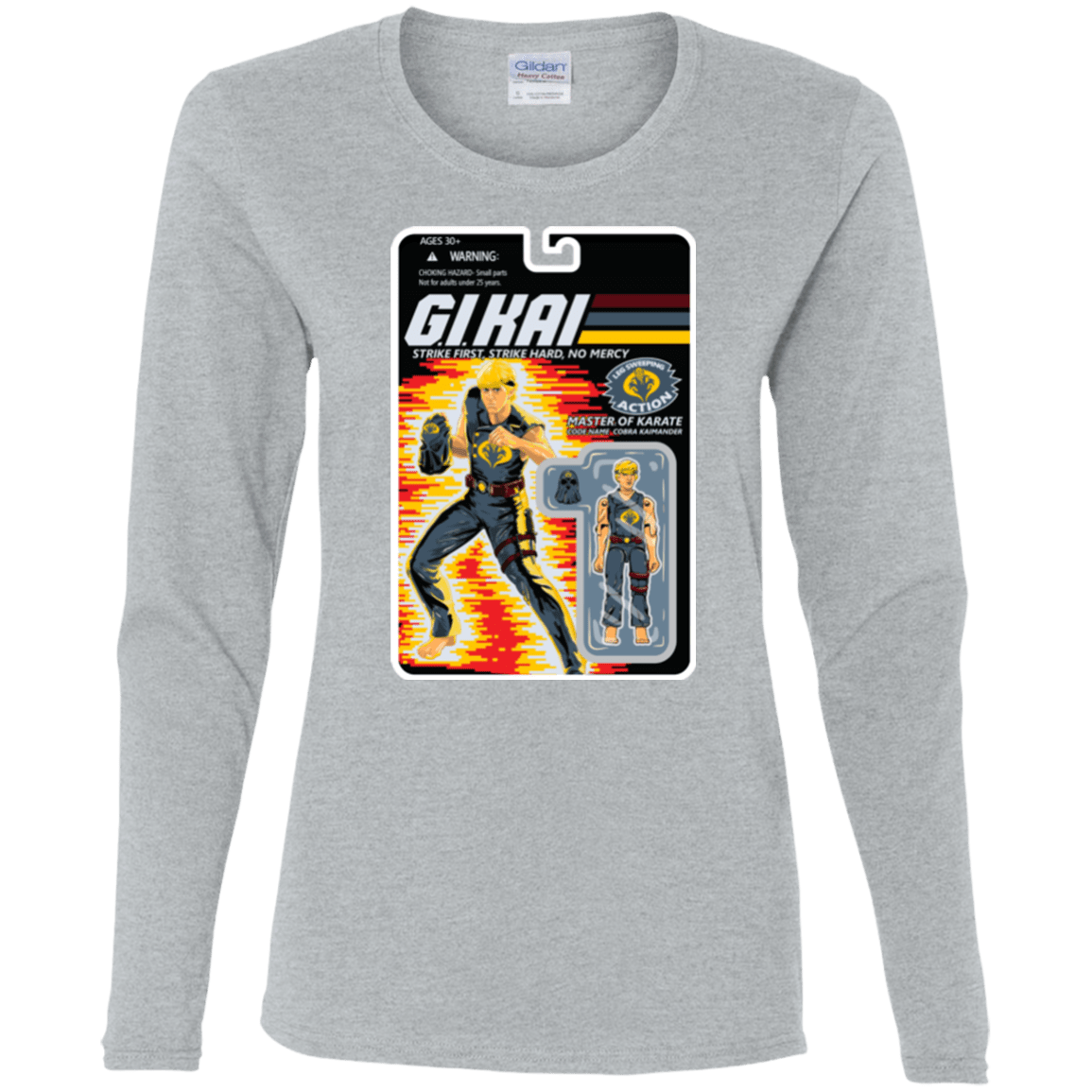 T-Shirts Sport Grey / S GI KAI Women's Long Sleeve T-Shirt