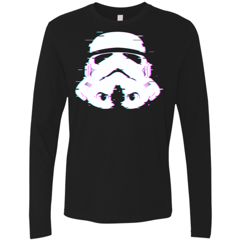 Glitch Trooper Men's Premium Long Sleeve