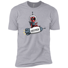 T-Shirts Heather Grey / YXS Gluten No More Boys Premium T-Shirt