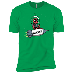 T-Shirts Kelly Green / YXS Gluten No More Boys Premium T-Shirt