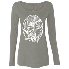 T-Shirts Venetian Grey / Small GOD SAVE QUEENS Women's Triblend Long Sleeve Shirt