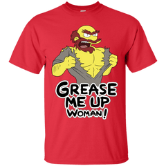 T-Shirts Red / S Grease Me Up T-Shirt