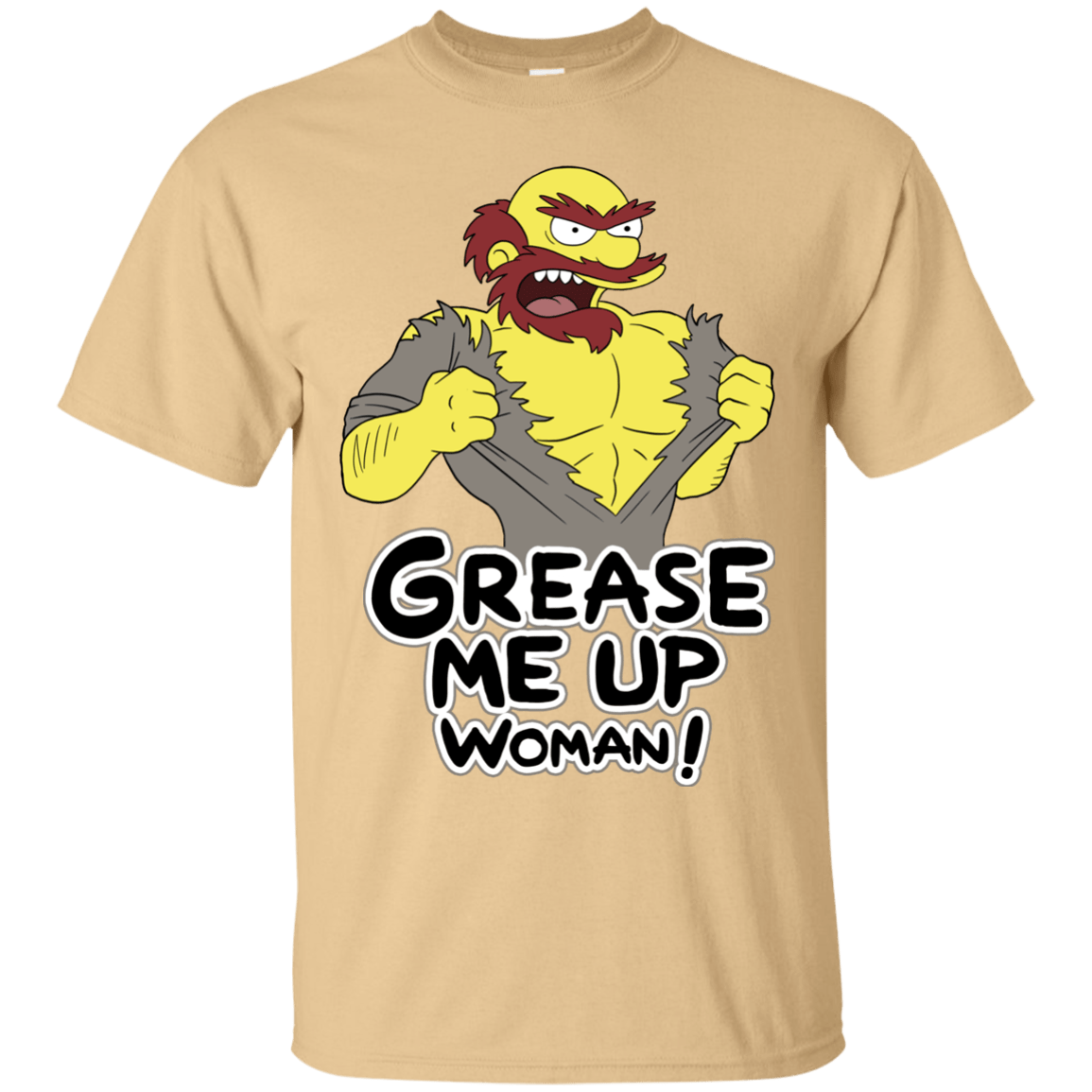 T-Shirts Vegas Gold / S Grease Me Up T-Shirt