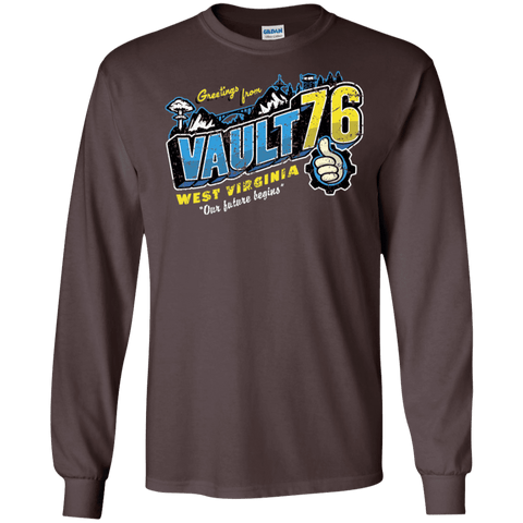 Greetings from WV Vault Men's Long Sleeve T-Shirt