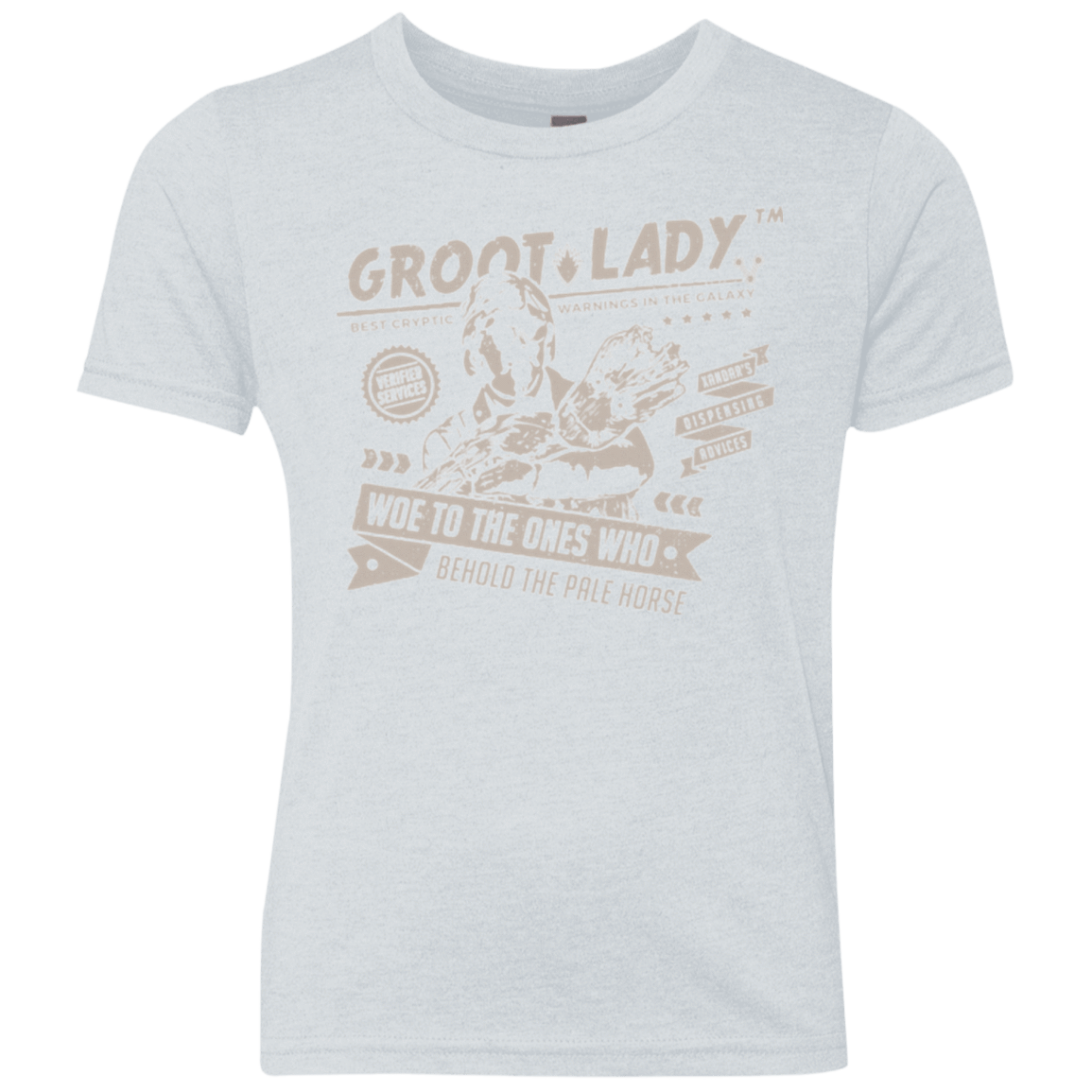 Groot Lady Youth Triblend T-Shirt