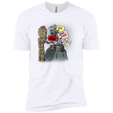 Groot No Touch Boys Premium T-Shirt