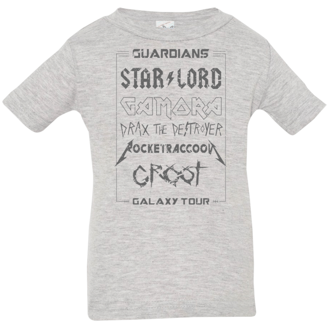 T-Shirts Heather / 6 Months Guardians Galaxy Tour Grunge Infant Premium T-Shirt