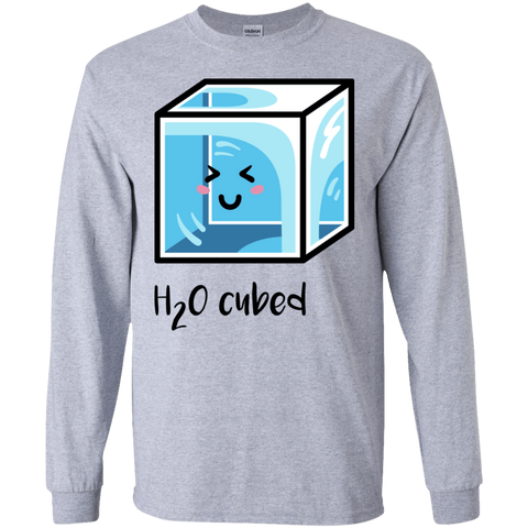 T-Shirts Sport Grey / S H2O Cubed Men's Long Sleeve T-Shirt
