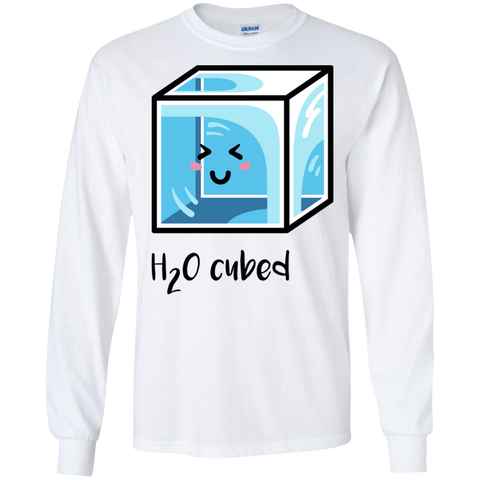 T-Shirts White / S H2O Cubed Men's Long Sleeve T-Shirt