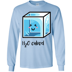 T-Shirts Light Blue / YS H2O Cubed Youth Long Sleeve T-Shirt