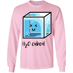 T-Shirts Light Pink / YS H2O Cubed Youth Long Sleeve T-Shirt
