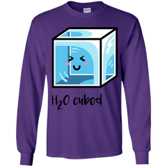 T-Shirts Purple / YS H2O Cubed Youth Long Sleeve T-Shirt