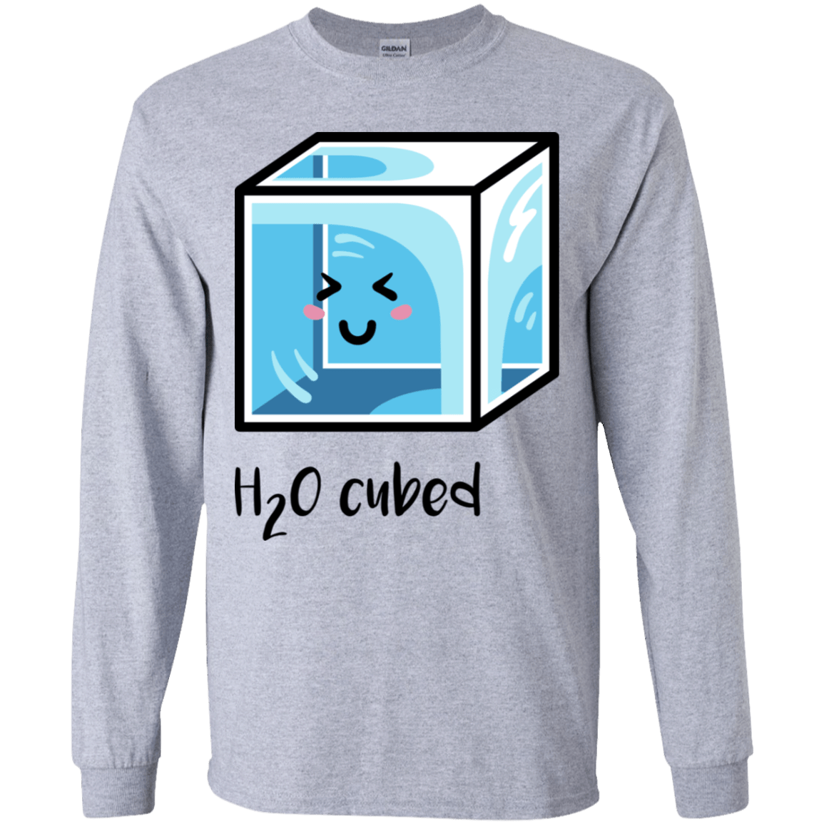 T-Shirts Sport Grey / YS H2O Cubed Youth Long Sleeve T-Shirt