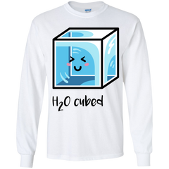 T-Shirts White / YS H2O Cubed Youth Long Sleeve T-Shirt