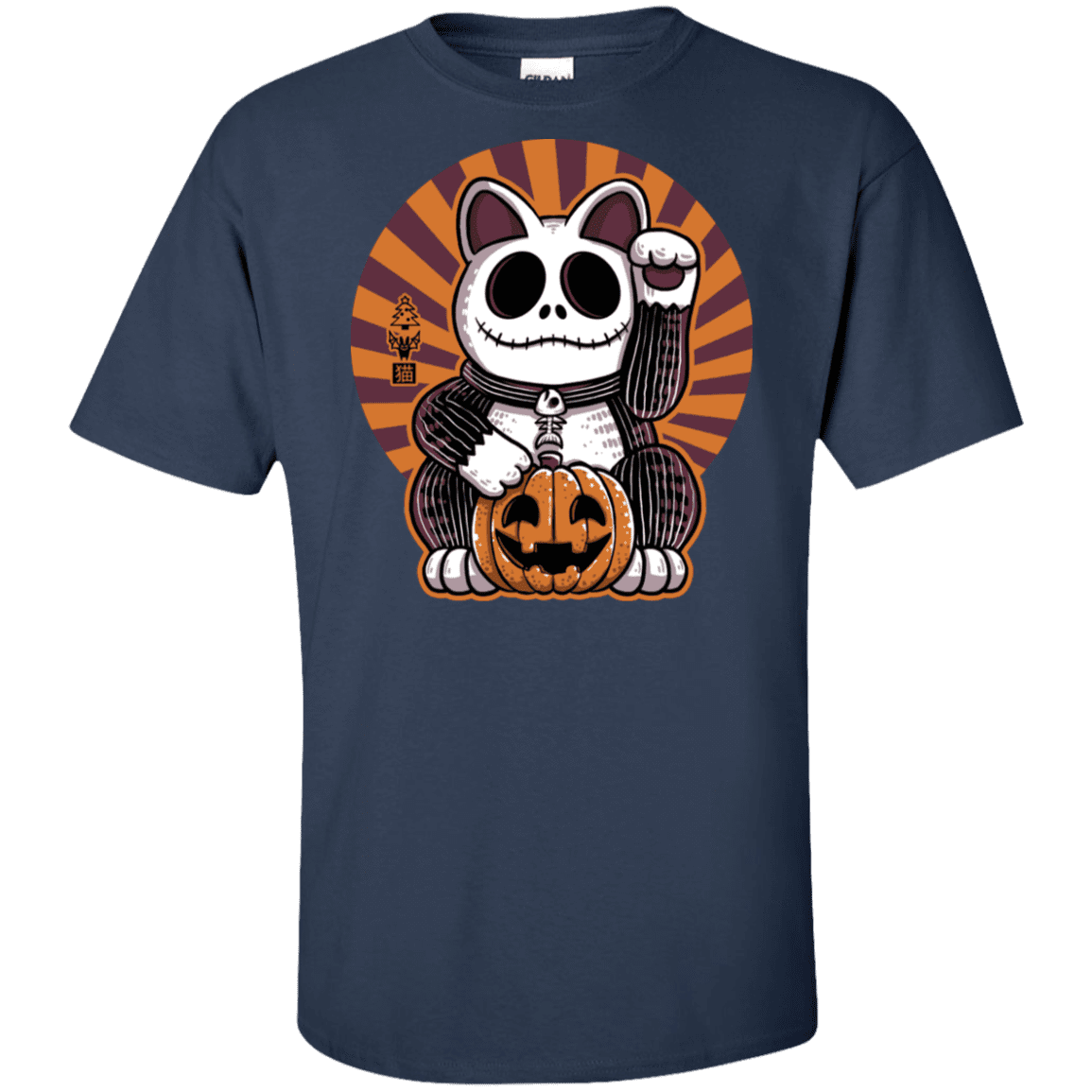 Halloween Neko Tall T-Shirt