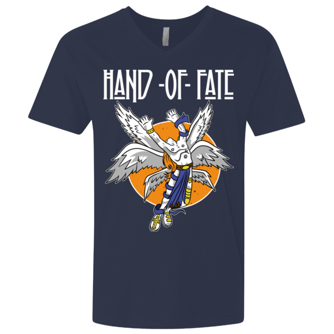 Hand of Fate (1) Men's Premium V-Neck