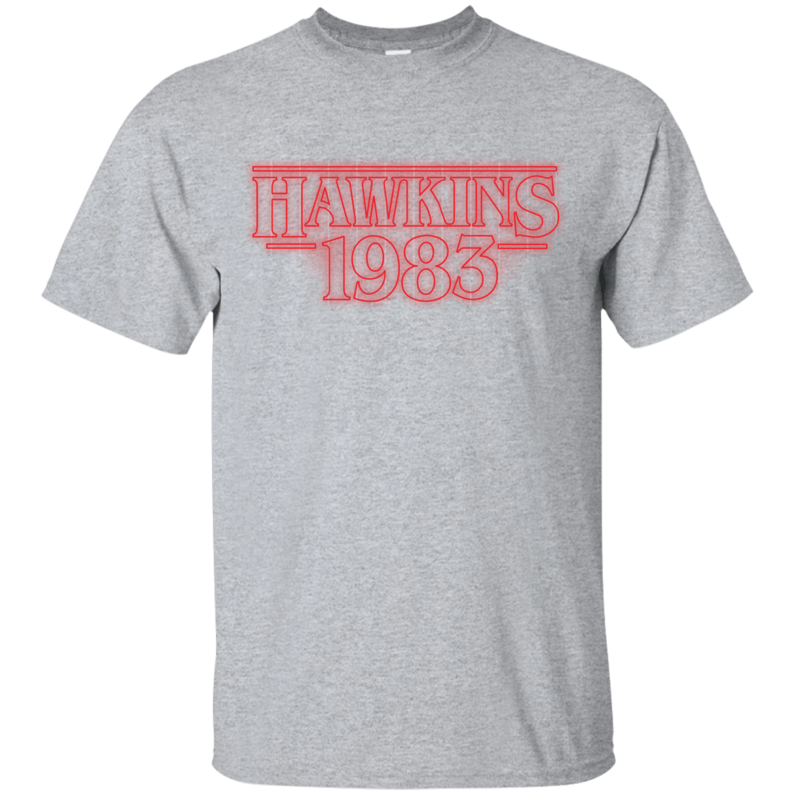 T-Shirts Sport Grey / Small Hawkins 83 T-Shirt